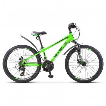 Велосипед 24 stels navigator-400 md 24 f010, цвет зеленый, размер 12