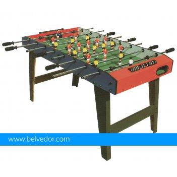Игра настольный футбол 121x61х68 см
