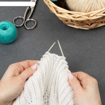 Спицы для вязания, прямые, с тефлоновым покрытием, d = 3 мм, 35 см, 2 шт