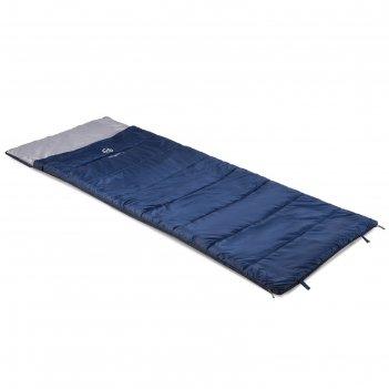 Спальник «galaxy -5», синий/серый l