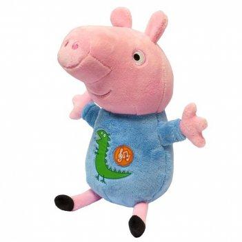 Мягкая игрушка с озвучкой peppa pig. джордж