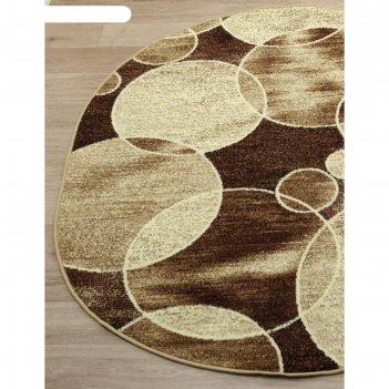 Овальный ковёр laguna d498, 200x400 см, цвет beige