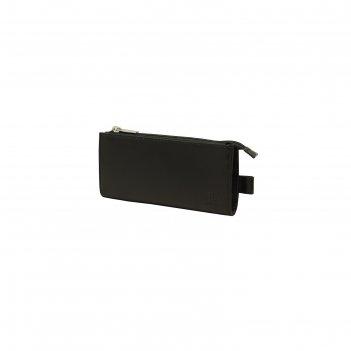 Ключница 7x0.8x14 см, цвет чёрный