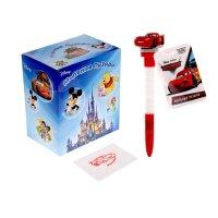 Мыльные пузыри ручка с печатью и светом чемпион, тачки, 10мл + игрушка