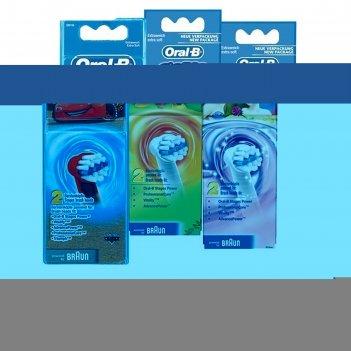 Насадка для детской зубной щётки oral-b kids stages cars, miki, princess,