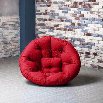 Кресло оустер бостон xl красный xl
