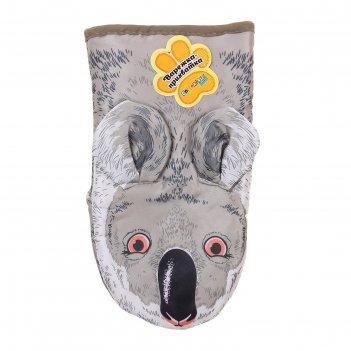 Варежка-прихватка collorista koala, 100% полиэстер