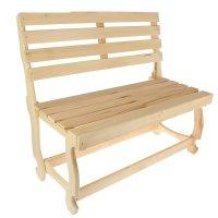 Скамейка нераскладная без подлокотников(наличник) 1000*550*900