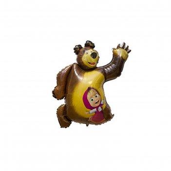 Шар полимерный 35 маша и медведь