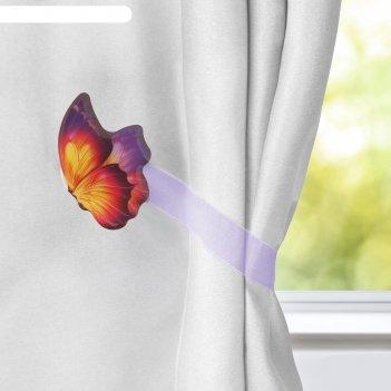 Прихват для штор бабочка