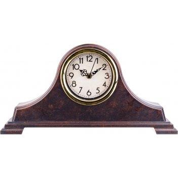 Часы настольные кварцевые royal house 40*20 см диаметр циферблата=11 см цв