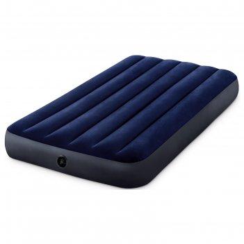 Матрас надувной classic downy fiber-tech, 99 x 191 x 25 см, 64757 intex