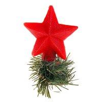 Декоративная свеча на бутылку новогодняя звезда