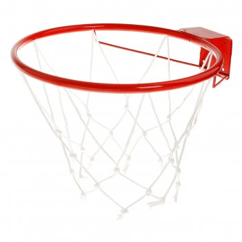 Корзина баскетбольная №5 «люкс», d=380 мм, с сеткой и упором