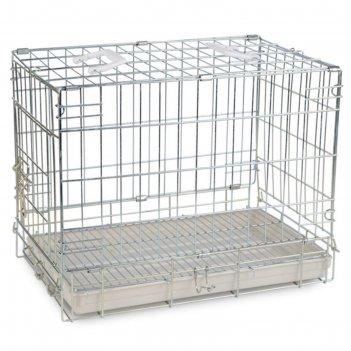 Клетка triol для животных, 51 х 33 х 40 см, цинк