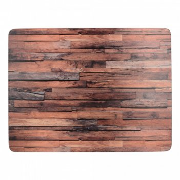 Creative tops набор из 4 подставок wood cabin 40x29