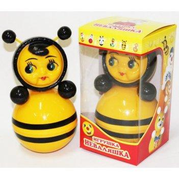 Игрушка-неваляшка пчёлка, 22 см