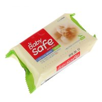 Мыло для стирки детских вещей cj lion baby safe с ароматом трав, 190 г