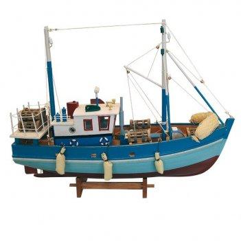 Рыболовное судно. l:45cm, h:36cm. арт. 317