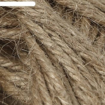 Пряжа джутовая 100% джут 80м/100гр (141 натуральный)