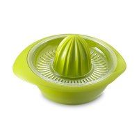 Соковыжималка пластиковая для цитрусовых с сеткой, 200 мл. цвет зеленый, с