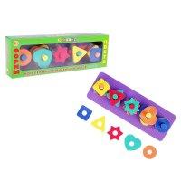 Развивающая игрушка-сортер формы и цвета