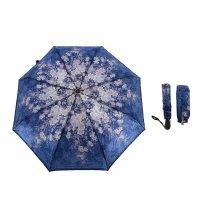 Зонт женский, суперавтомат, 3 сложения, r=51см
