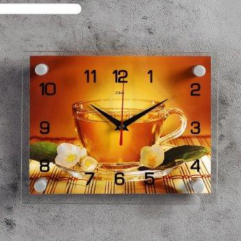 Часы настенные, серия: кухня, чай, 20х26 см  микс