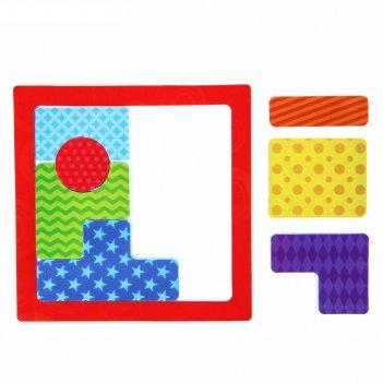 Развивающая игра для ванны «тетрис. геометрия», из eva