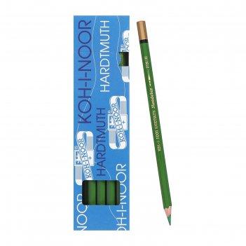 Карандаш акварель.k-i-n mondeluz3720/025,зеленый луг, дл175мм, грифель3,8м
