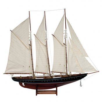 Модель парусника atlantica l 102 см h 83 см