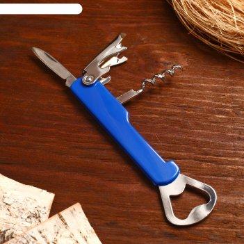 Нож складной 4в1, цвет микс