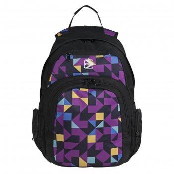 Рюкзак, фиолетовый, 320x450x150