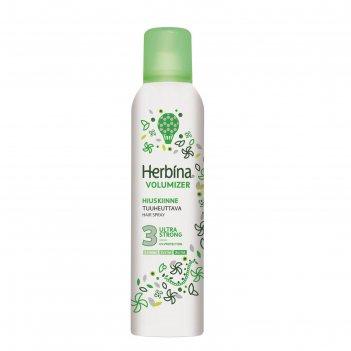Лак для волос herbina volume ultra strong, 250 мл