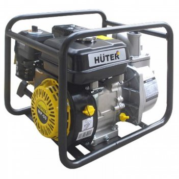 Мотопомпа huter mp-50, 5.5 л.с., 163 см3, 600 л/мин, глубина 8 м, напор 32