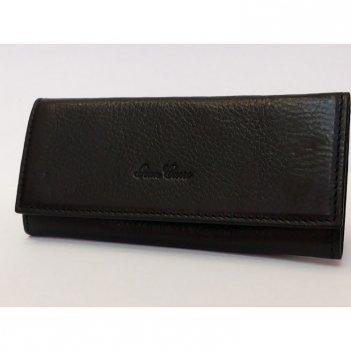 Ключница на 6ключей цвет черный 6,5*12 gran carro 10062-3