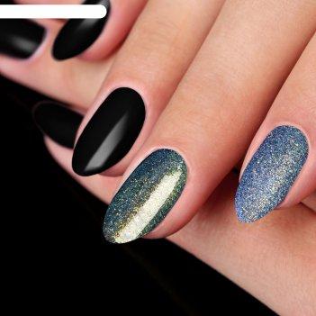Пудра для декора ногтей, цвет фиолетовый