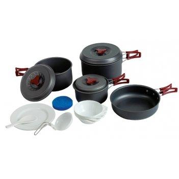 Набор посуды из анодированного алюминия на 4-5 персон