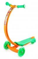 Трехколесный самокат zycom zipster со светящимися колесами тигренок