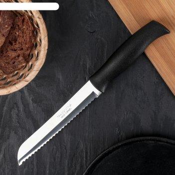 Нож для хлеба tramontina athus, лезвие 17,5 см, сталь aisi 420