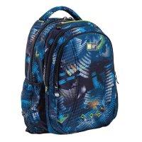 Рюкзак школьный эргономичная спинка yes t-31 44*31*13,5 clark синий 553214