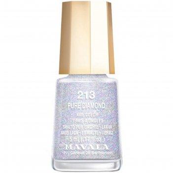 Лак для ногтей mavala 213 чистый бриллиант