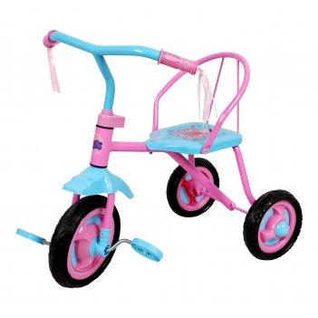Детский трехколесный велосипед 1toy - peppa