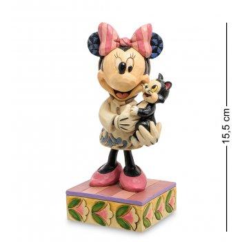 Disney-4049631 фигурка минни маус ветеринар (нежная забота)