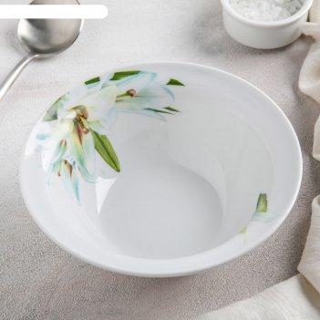 Миска «идиллия. цветущая лилия», 550 мл