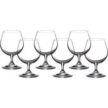 Набор бокалов для коньяка из 6 шт. клара 400 мл.