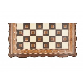 Шахматы турнирные-8 инкрустация 50