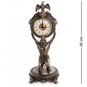 Ws-1003 статуэтка-часы атлант