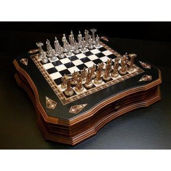 Шахматы легион венге антик 40х40см