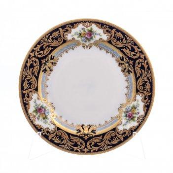 Набор тарелок 17 см (6 шт) opal cobalt gold
